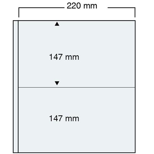 "Foglio trasparente Nr. 464 ""Compact A4"""