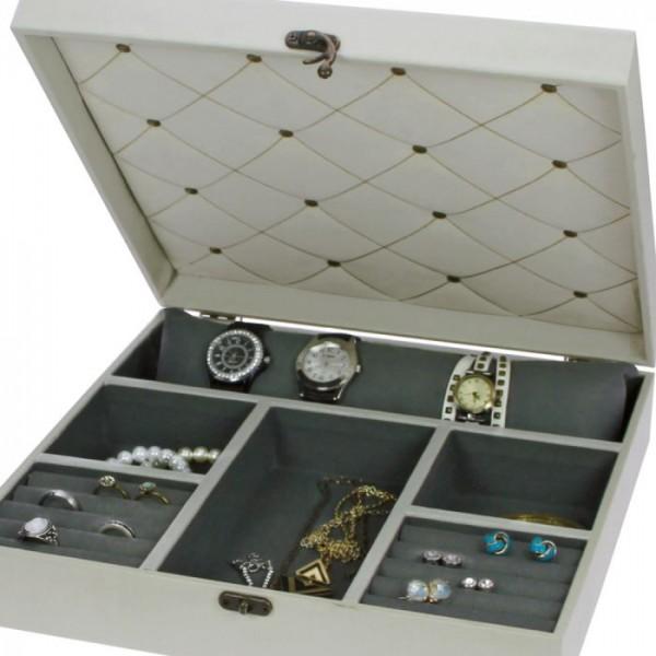 Portagioie e porta orologi in legno
