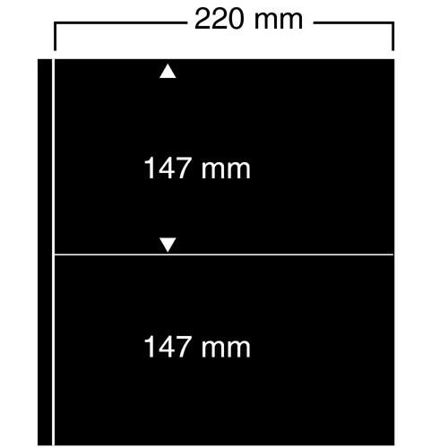 """Foglio nero Nr. 452 """"Compact A4"""""""