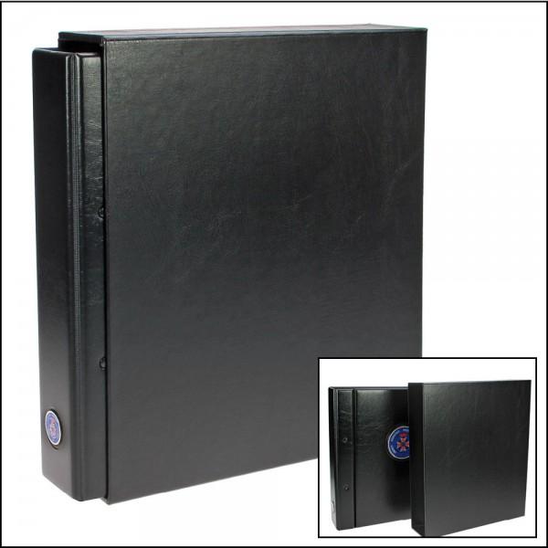 Custodia nera per Album Premium per distintivi, pins, medaglie...Nr. 7355