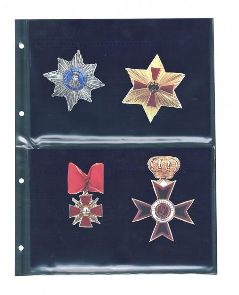 Foglio aggiuntivo per Album Premium per distintivi, pins, medaglie...Nr. 7355