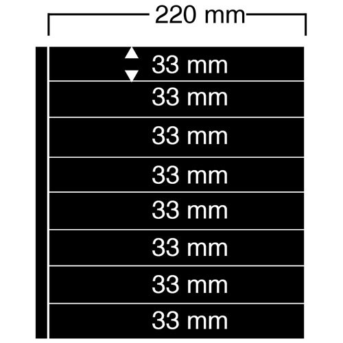 """Foglio nero Nr. 458 """"Compact A4"""""""