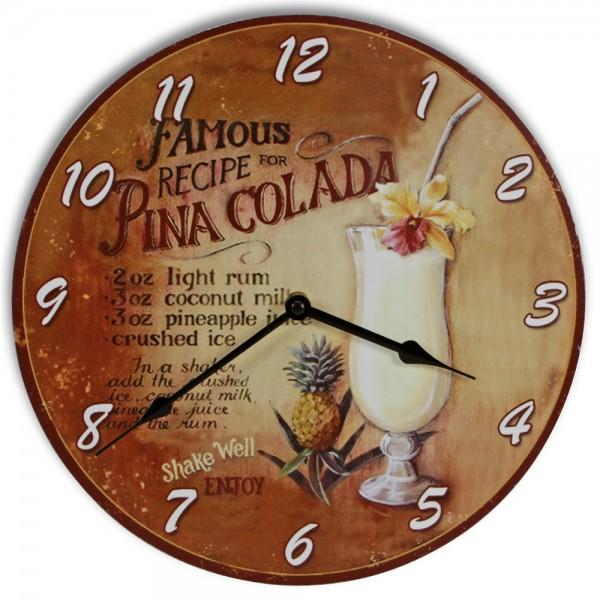 "Orologio da parete ""Pina Colada"""